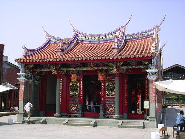 宜蘭傳統藝術中心-廟形建築物