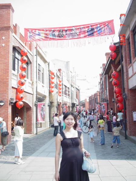 宜蘭傳統藝術中心-小白在傳統大街