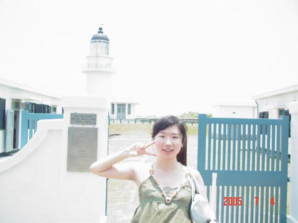 三貂角燈塔-小白