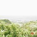 三貂角燈塔-遠眺海邊