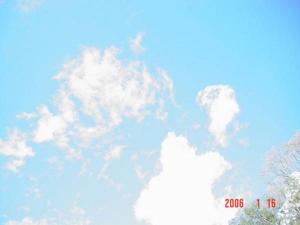 廬山的天空.