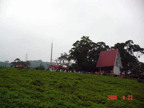 山坡上的飲食小屋