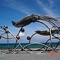 海生館的魷魚造型