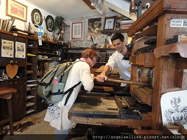 Bled 哥騰堡時代活版印刷