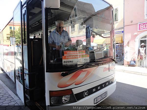 Rovinj-Pula Bus