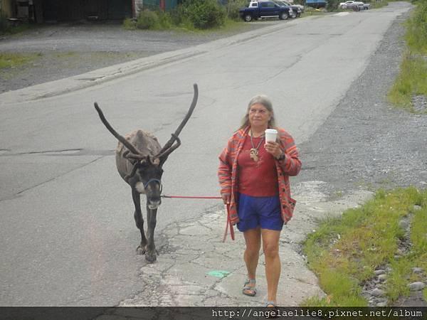 Woman in Whittier