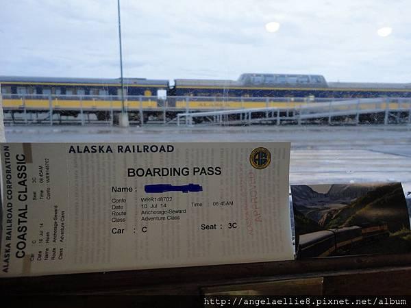 Alaska Railroad Ticket
