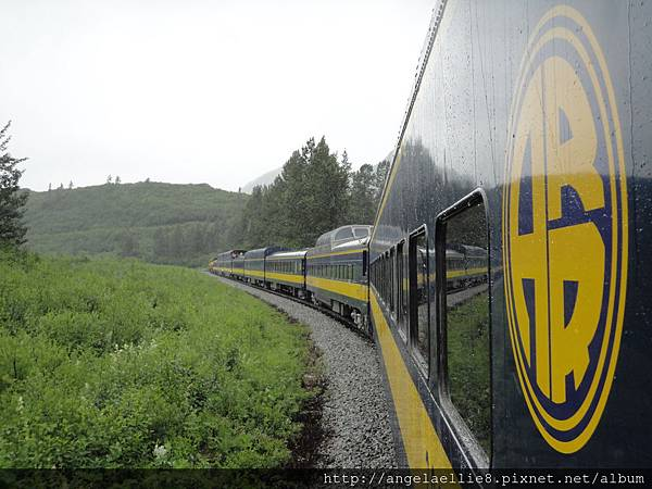 Anchorage Alaska Railroad Logo