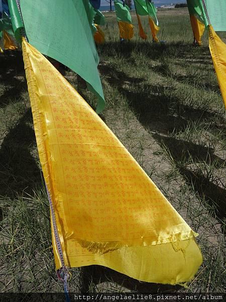 藏傳佛教五彩旗