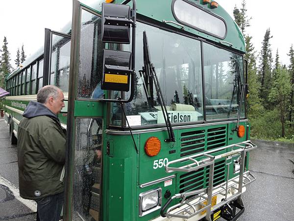 Eielson Shuttle (Green Bus)