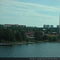 Stockholm from the sea