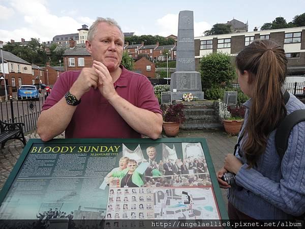 Bloody Sunday walking tour
