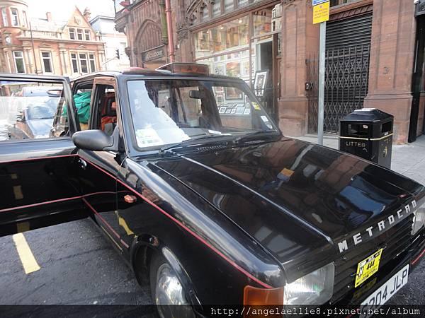 Belfast Black Taxi