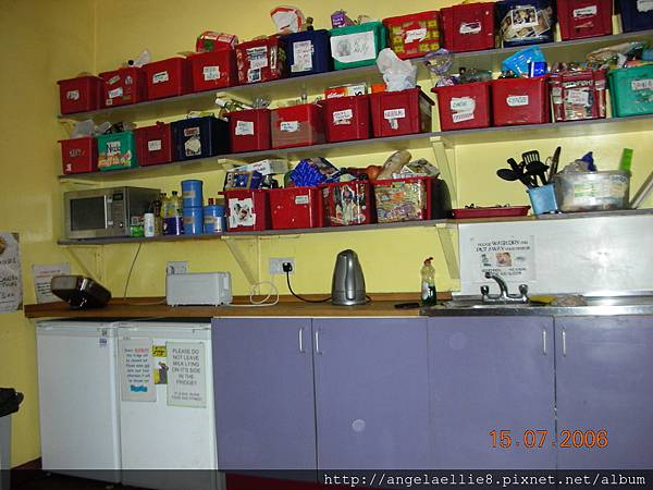 Kitchen at Royal Mile Backpacker.JPG