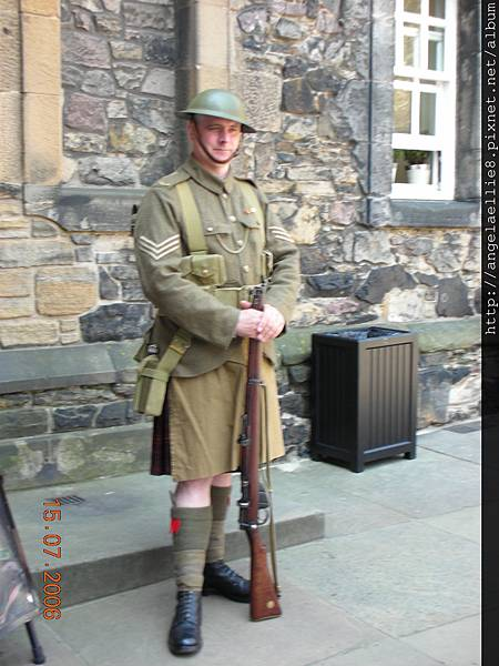 Soldier in Edinburgh Castle.JPG