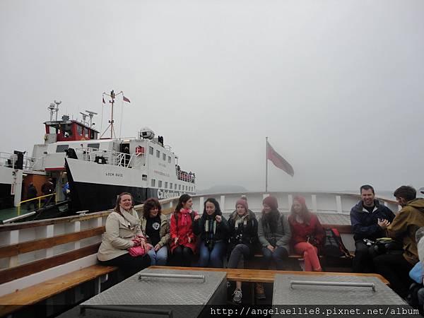boat ot Staffa