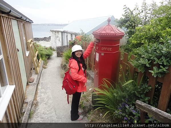 Isle of Mull荒涼的郵局