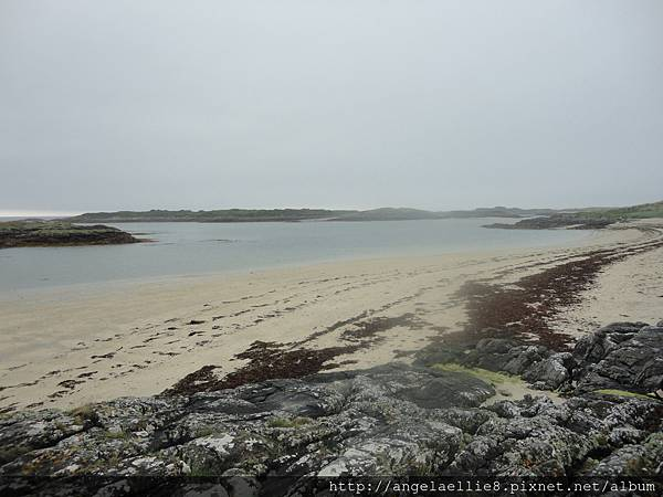 the white sands of Morar on the way to Ferry Terminal