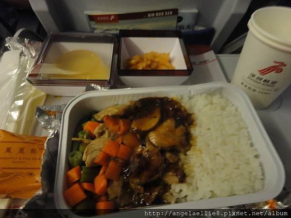 深圳航空機上餐