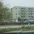 丹東平壤火車沿途景