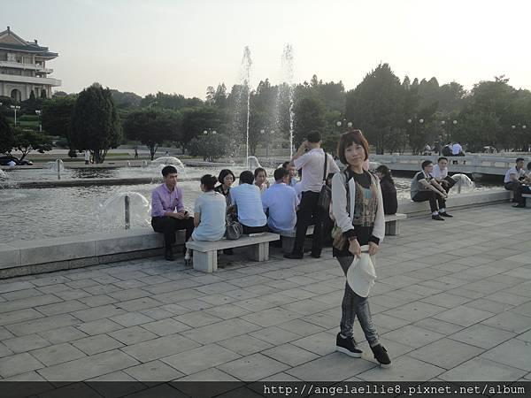 平壤萬壽台噴泉公園