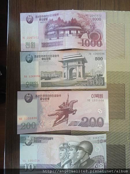 北朝鮮紙鈔