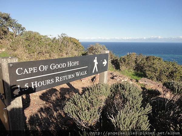 Sign to Cape of Good Hope