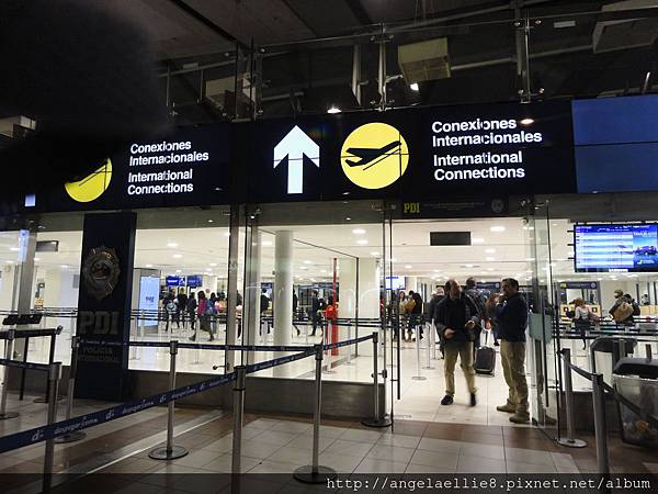 SCL Airport money exchange