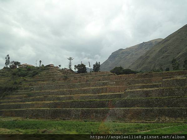 on the way to Ollantaytambo
