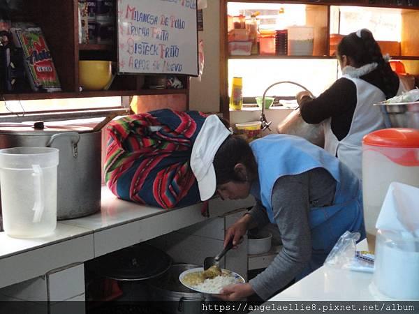 Aguas Calientes central market