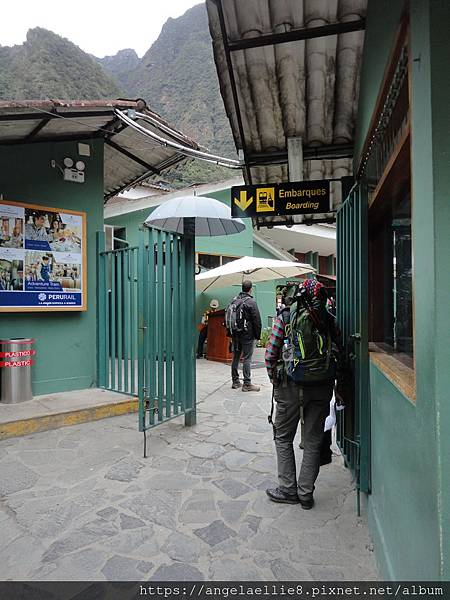 Aguas Calietes Train Station