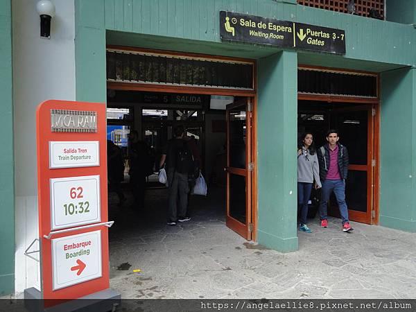 Aguas Calietes Train Station
