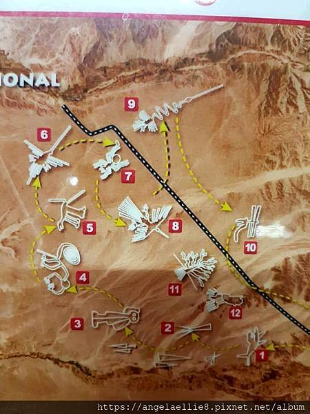 Nasca airplane Map
