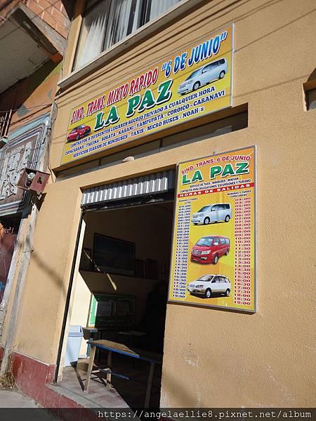 Bus to La Paz