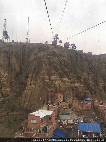 La Paz teleferico station
