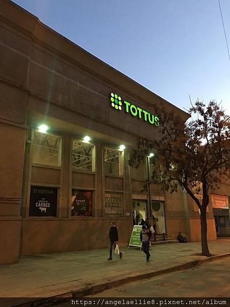 Santiago hostel supermarket