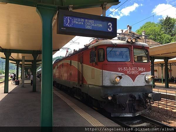 Bucharest~Sinaia train