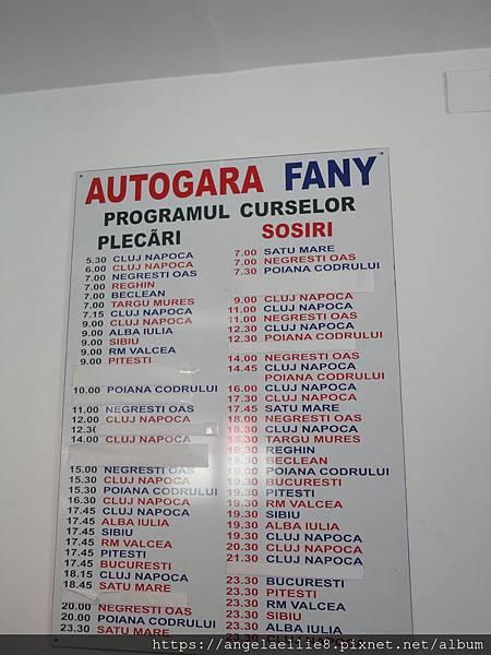 Baia Mare FANY station