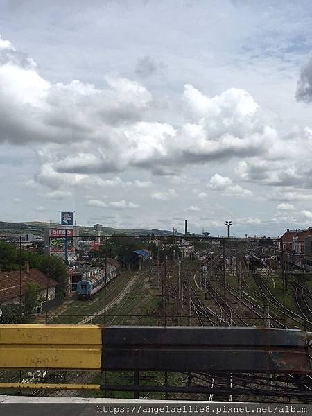 Cluj Fany過橋火車站.jpg