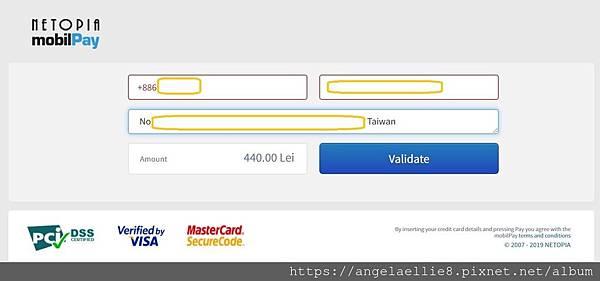Tour Romania pay link