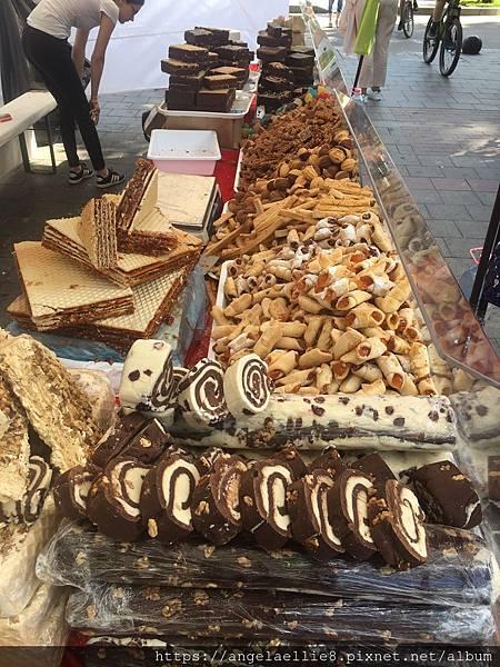 Sinaia market