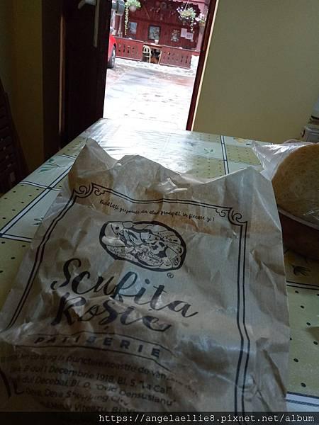 Sibiu famous bread 像doughnut