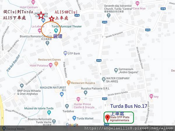 Turda ALIS %26; bus No. 17