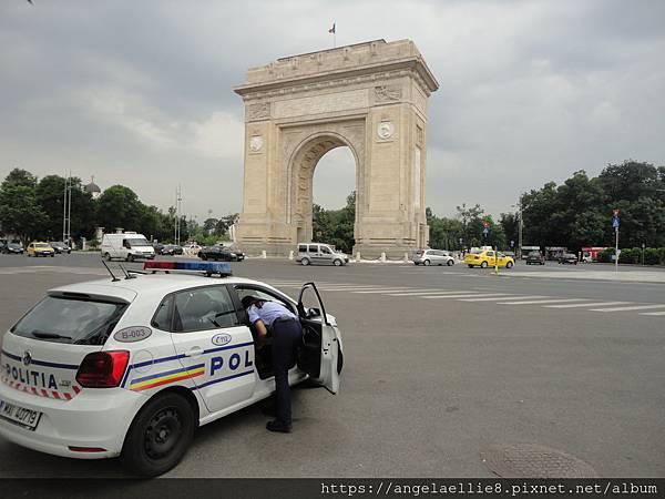 Bucharest 凱旋門