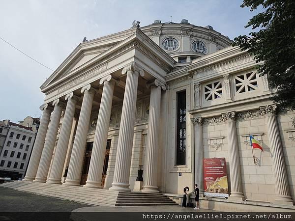 Romanian Athenaeum雅典娜神廟