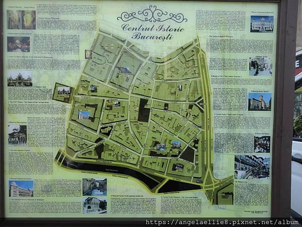 Bucharest old town
