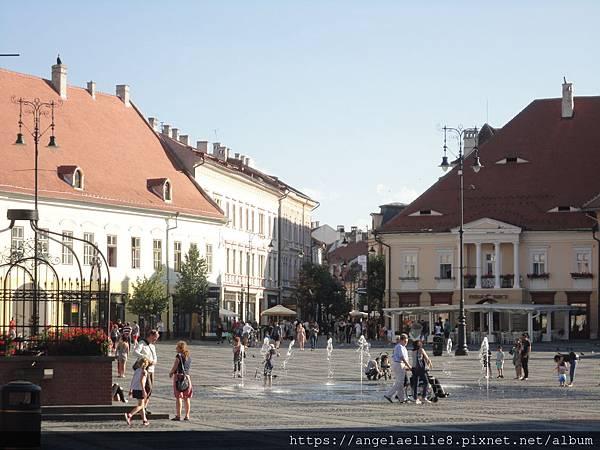 Sibiu old town大廣場