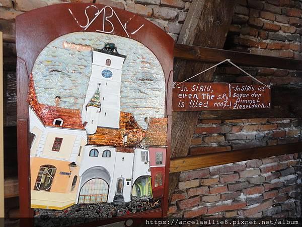 Sibiu Turnul Sfatului議會塔