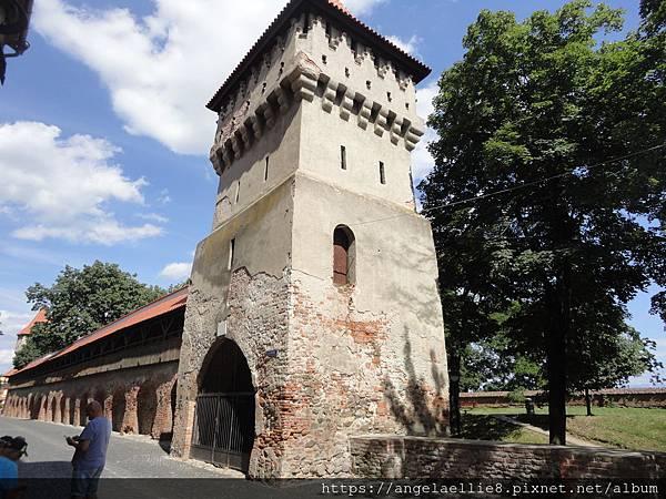Sibiu City Wall