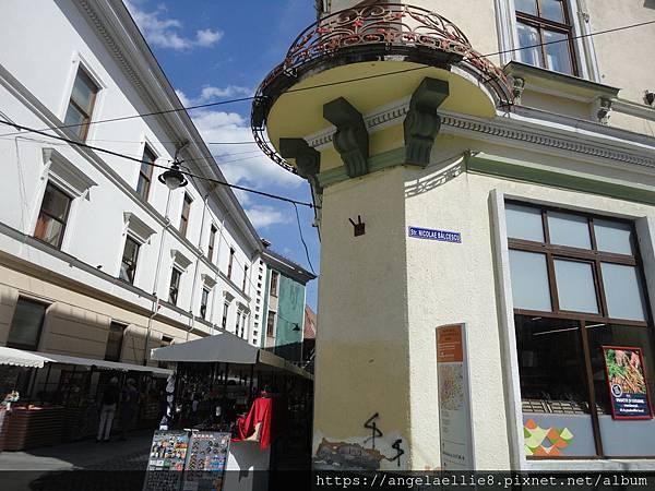 toward Sibiu City Wall